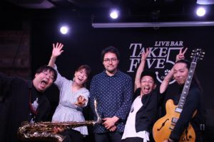 KHAMSIN @ Live&Bar TAKE FIVE